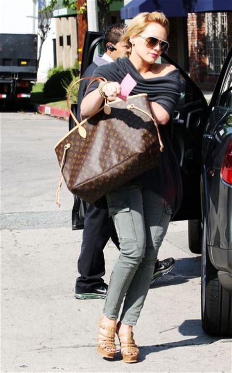 Hilary Duff And Louis Vuitton Nimbus Gm by Louis Vuitton Neverfull Gimme Dear Santa