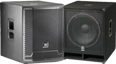 the best subwoofers the best pa subwoofers powered passive 2018 gearank