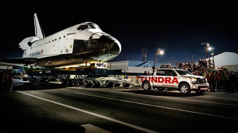 Toyota Shuttle Tundra Pulling Space Shuttle Page 2 Pics About Space