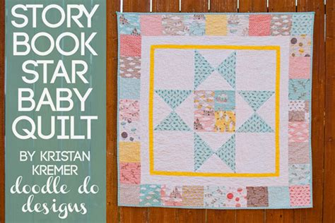 The Quilt Story by Story Book Baby Quilt 171 Moda Bake Shop