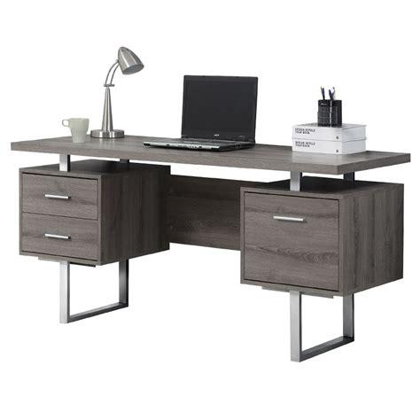 picture of a desk modern desks harley gray washed desk eurway modern