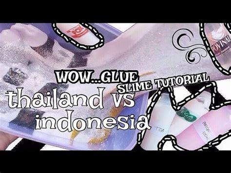 Toa Glue 1 slime with toa wegabond perlon glue thailand vs