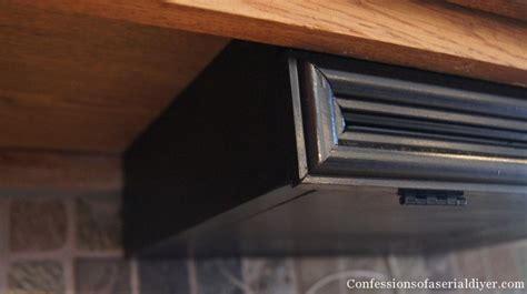 under cabinet bread box diy under the cabinet docking station confessions of a