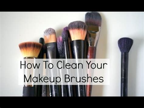 diy makeup brush cleaner at home products