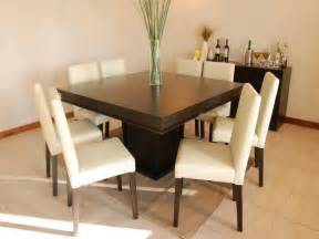 8 Seater Square Dining Table Simple And Fresh Square Dining Table For 8 Stroovi