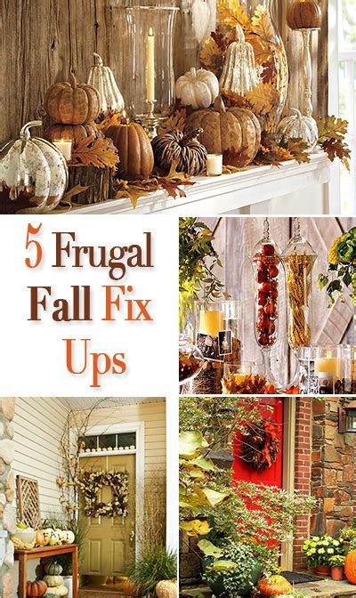 fall decorating on a budget 5 frugal fix ups for fall home decorating the budget