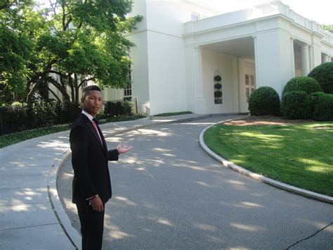 pharrell williams house pharrell at the white house the neptunes 1 fan site