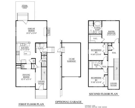 20 Wide House Plans by House Plans Cars And Foyers On