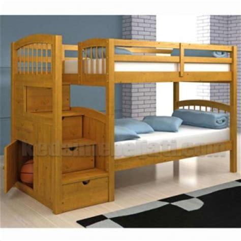 Tempat Tidur Minimalis Tingkat tempat tidur anak model minimalis tingkat dengan laci