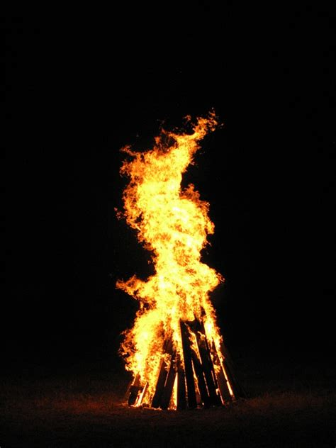 Free photo: Fire, San Juan, Bonfire, Flames - Free Image ... Facebook Blue Color