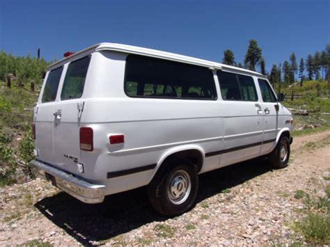 how does cars work 1994 chevrolet sportvan g20 regenerative braking barn find 1994 chevrolet g20 van 3rd row 54k orig miles survivor
