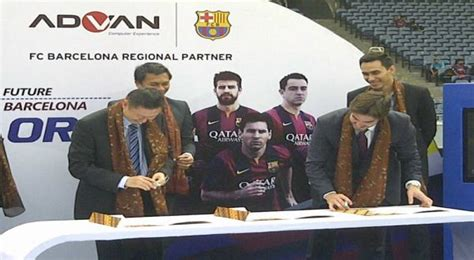 Advan Barcelona promosi smartphone advan gandeng barcelona okezone techno