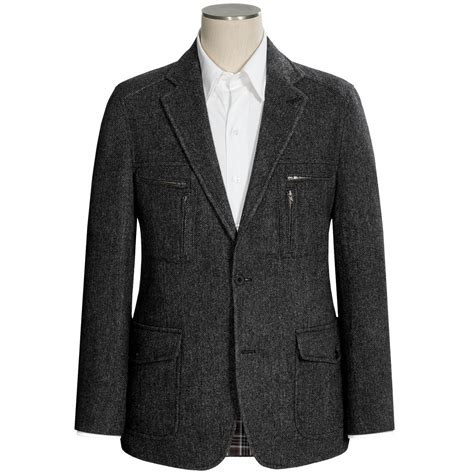 kroon nash herringbone sport coat wool blend for men