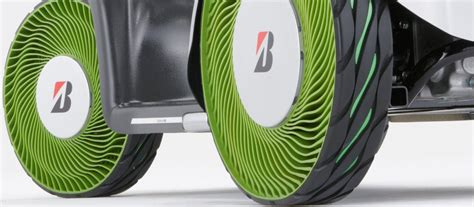 Bridgestone Airless Tires by Psychedelic Tires Of The Future