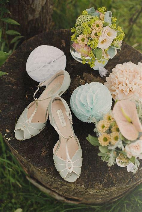 Vintage Hochzeit Schuhe by Schuhe In Gr 252 N F 252 R Die Braut Pastellfarben Www