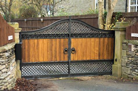wooden driveway gates wood garden gates home facebook