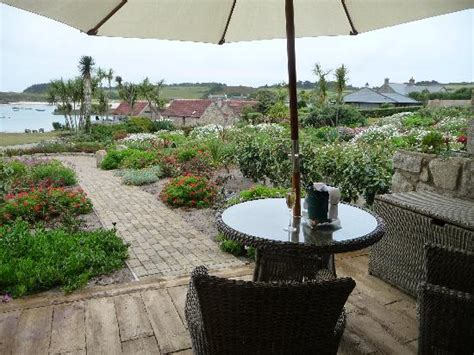 sea garden cottages tresco view from the cottage ground floor picture of sea garden
