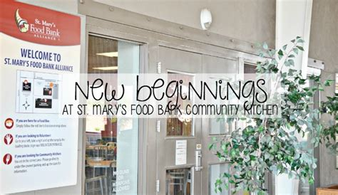 New Beginnings Food Pantry by New Beginnings At St S Food Bank Community Kitchen