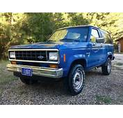 $3000 5 Speed 1986 Ford Bronco II