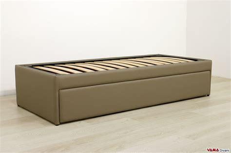 letto a estraibile doppio letto singolo estraibile a scomparsa con reti a doghe