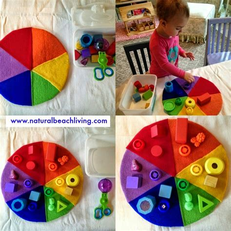 color activities for toddlers teaching toddlers shapes through play living