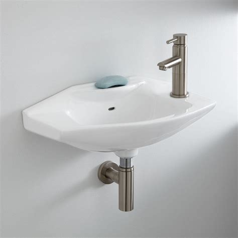 wall mount sink bathroom leo porcelain wall mount bathroom sink bathroom