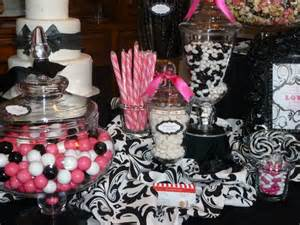 pink and black buffet food premier s dress