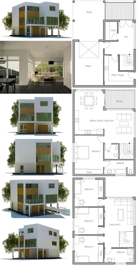 floor plan of a modern house 188 best images about house plans contemporary modern