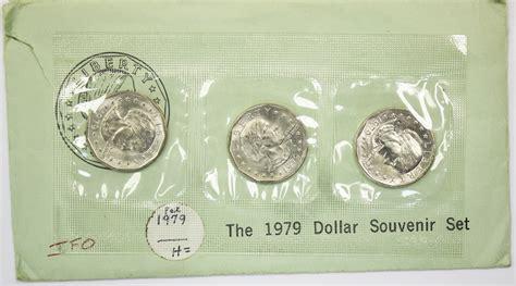 susan b anthony dollars 1979 1981 1999 mintage coin 1979 susan b anthony dollar souvenir set value coinhelp