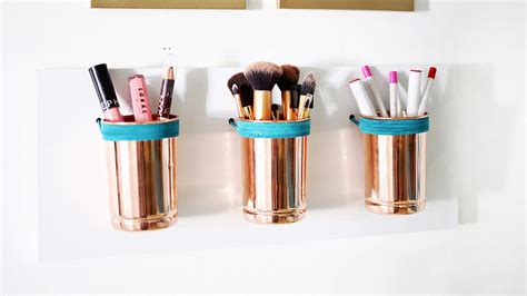 10 easy diy makeup organizer ideas you ll want to copy