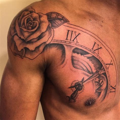 shoulder blade tattoo men www pixshark com images