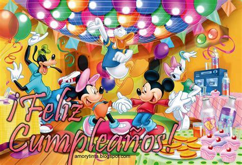 imagenes cumpleaños infantiles amor y tinta imagenes de cumplea 241 os de disney