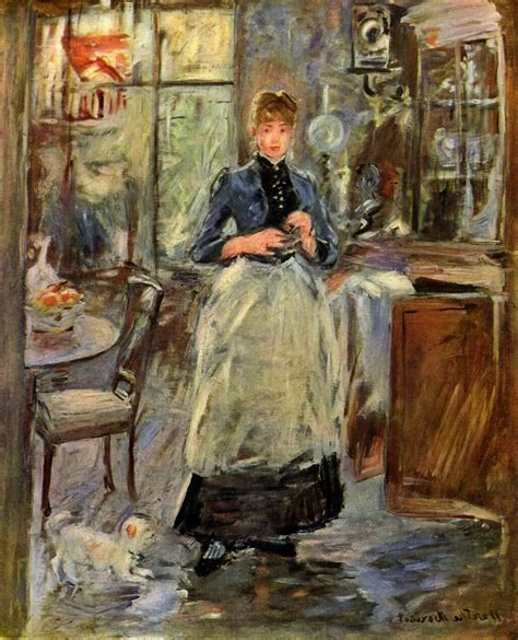 berthe morisot in the dining room berthe morisot in the dining room defilenidees com