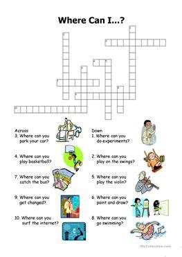 32 free esl crossword powerpoint presentations exercises