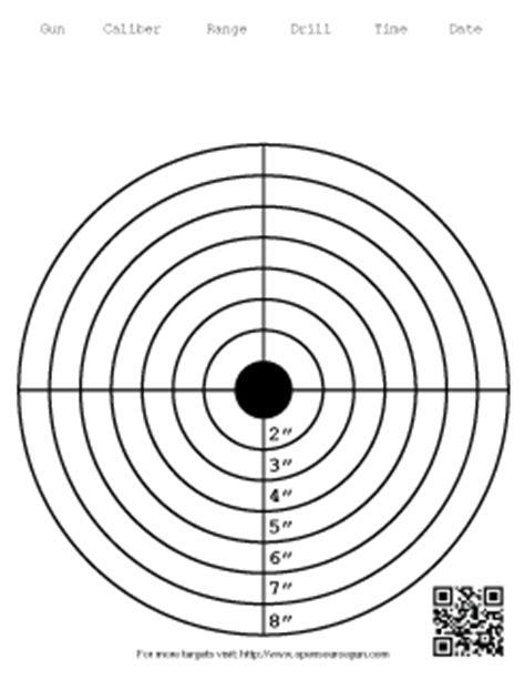 Printable 8 Inch Targets | targets open source gun