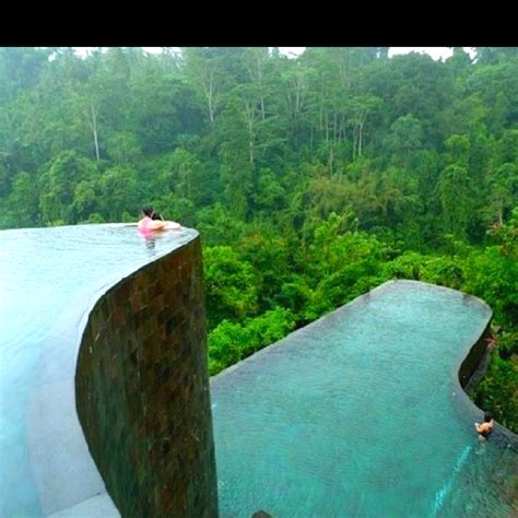 hanging infinity pools in bali hanging infinity pools in the ubud hanging gardens bali