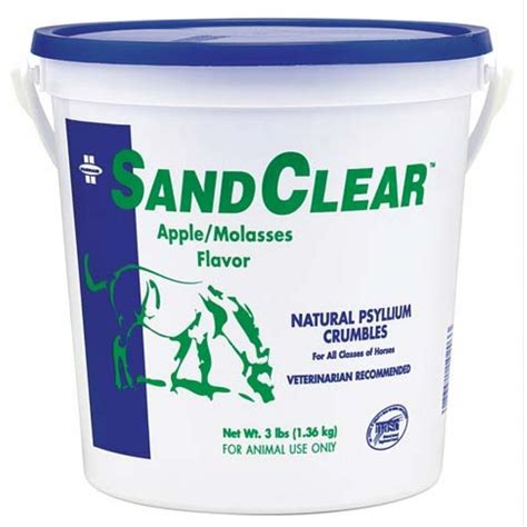Clear Jelly Like Substance In Stool by Sandclear For Horses Gregrobert