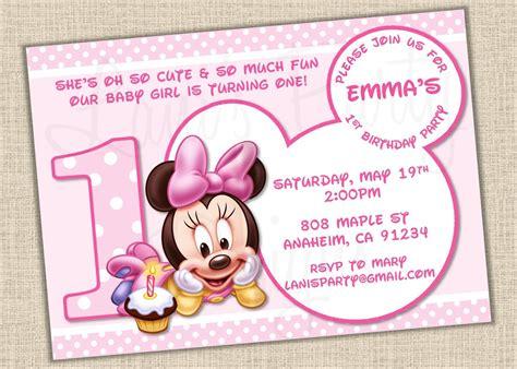 1st birthday invitations free templates mickey mouse birthday invitations templates