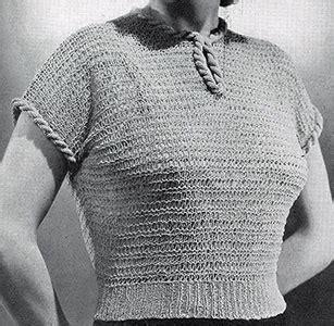 jiffy knit sweater pattern jiffy knit blouse pattern 1100 knitting patterns
