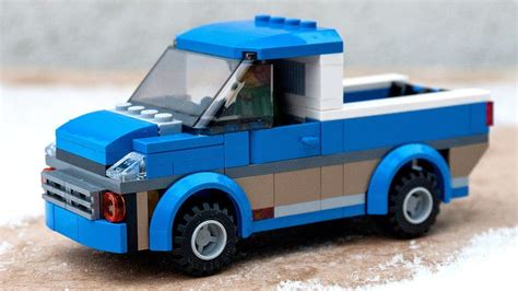 lego vehicle tutorial how to build tutorial for custom lego city pick up car