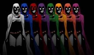 Raven Teen Titans Colors Raven Colors Raven