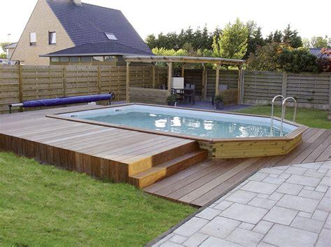terrasse yvelines amenagement autour d une piscine hors sol 11 abri