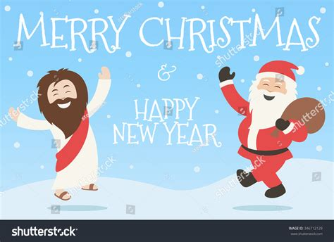 happy new year with jesus merry happy new year with a happy jesus