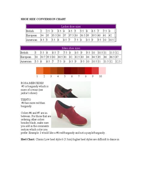 shoe size chart honduras american shoe size conversion chart image collections
