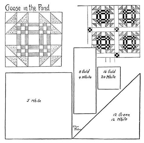 quilt pattern goose in the pond quilt pattern goose in the pond chock a block b pinterest