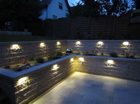 Beleuchtung Mauer Garten by Projekt Quot 21 Wag Quot Gartenprofi Ramge Gmbh