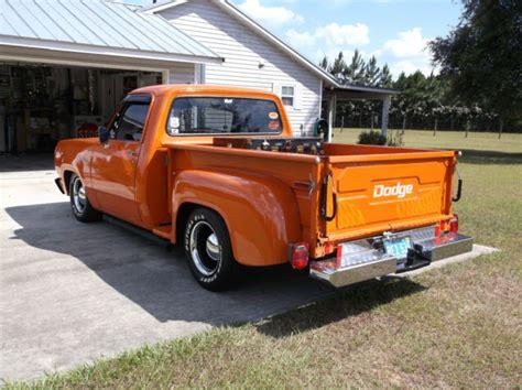 dodge shop dodge 1978 d100 stepside shop truck truck