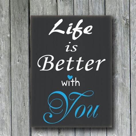 better with you is better with you custom wood sign home decor wall