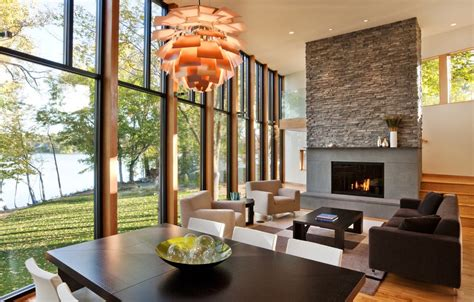 natural stone fireplaces with hickory rustic fireplace