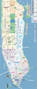 New York City Map With Tourist Attractions by Maps Update 58022775 New York City Map With Tourist